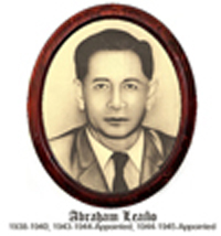 Abraham Leaño 1938-1940; 1943-1944 Appointed; 1944-1945 Appointed (Military Government)