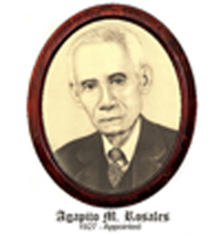 Agapito Rosales 1927-Appointed