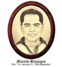Marcelo Batangan Dec.01 - Jan.31 1988 Appointed